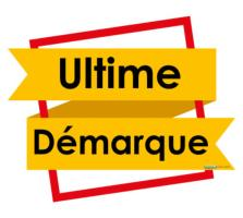 Sticker Utlime démarque (kit de 2)