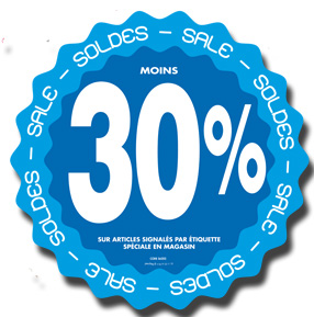 Stickers Soldes -30%