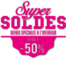 Sticker Super soldes (kit de 2)