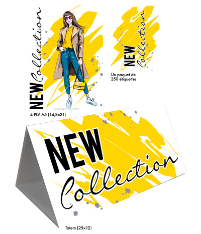 Kit Nouvelle Collection Fashion