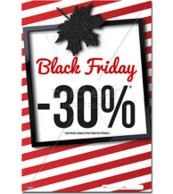 AFFICHE Black Friday erable