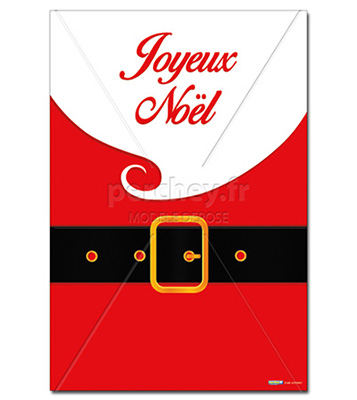 Affiche Noel Affiche Père Noël   Perchey.Fr