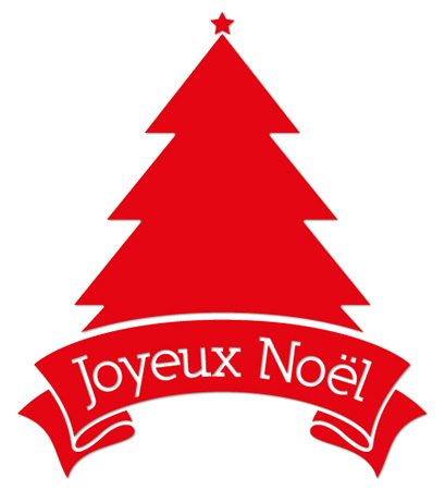 STICKER Sapin de noel (kit de 2)