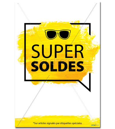 Affiche supersoldes