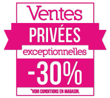 STICKER FLUO Ventes Privées