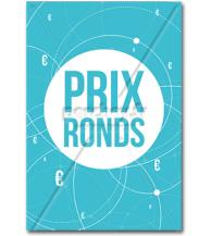 Affiche Prix ronds blue