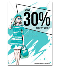 Affiche Promotion Fashion B