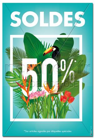 affiche soldes jardin - Soldes Jardin