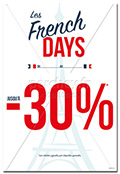Affiche FRENCH DAYS Paris