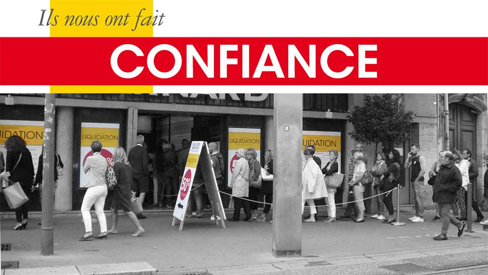 plus grand choix de prix favorable chaussures exclusives Ils nous ont fait confiance - Perchey.fr