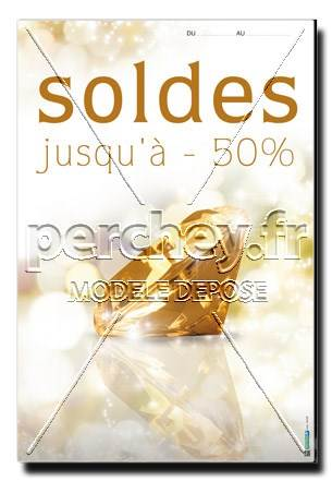 Affiche Soldes Topaze Imperiale - 46 x 68