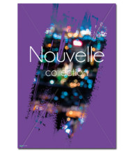 Affiche Nouvelle Collection Violette
