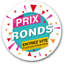 Sticker Prix ronds color