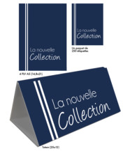 Kit Nouvelle Collection bleu uni
