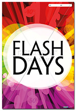 Affiche Promotion Flash Days - 46 x 68